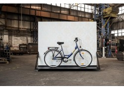 """Csepel Budapest A 24""""-es 1 sebességes, kontrás kerékpár"""