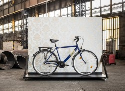 Csepel Budapest férfi 1 sebességes, kontrás kerékpár